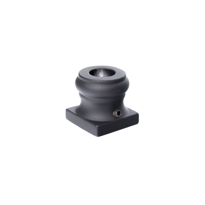 2GR900 - Iron Baluster Shoe - Round Flat - 5/8""