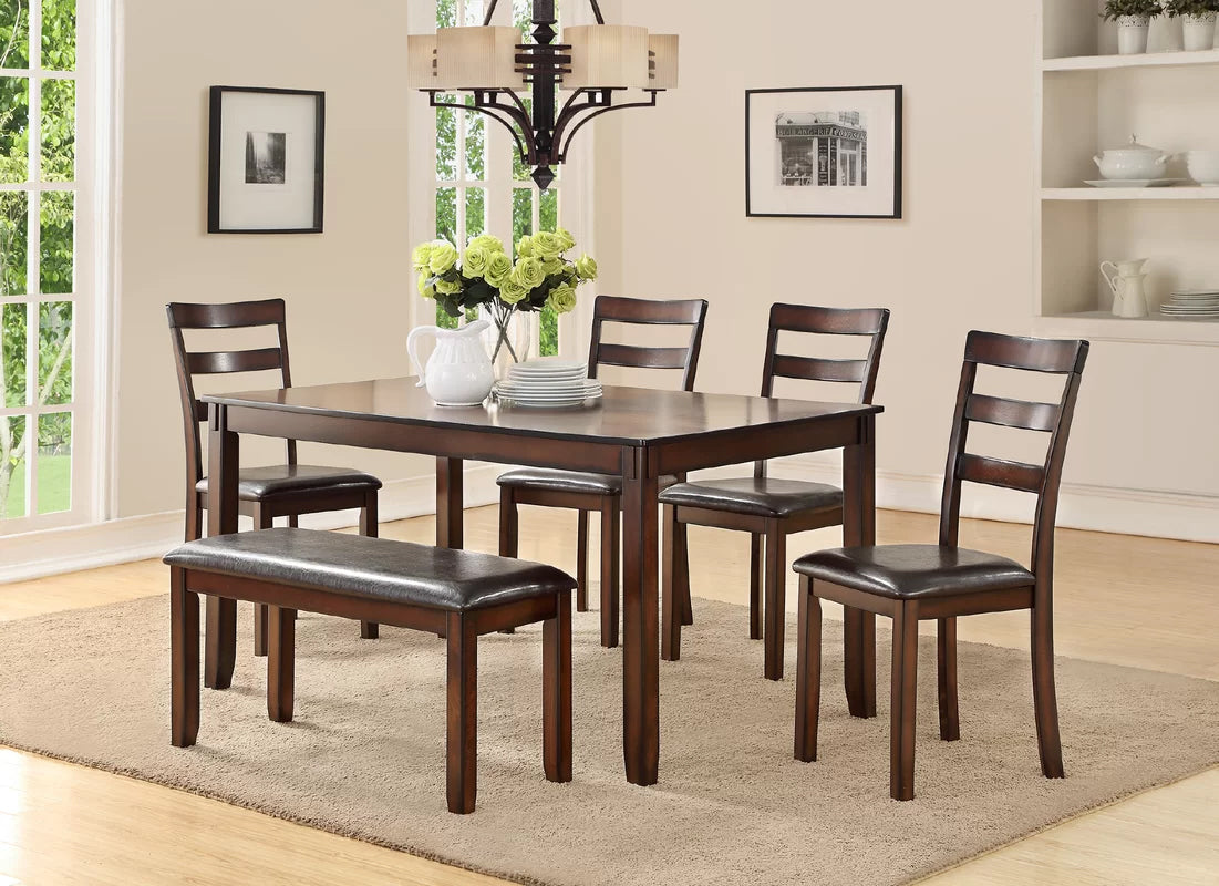 Fiecke 6 Piece Casual Dining Set