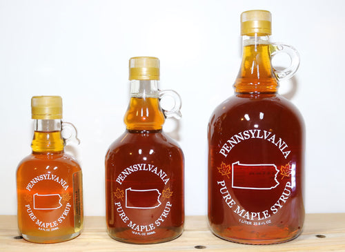 Maple Syrup - Glass PA Jug
