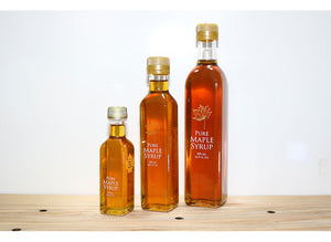 Maple Syrup - Glass Specialty Containers, Marasca