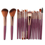 Pinceau de maquillage MAANGE 18Pcs Makeup MAANGE - May-P