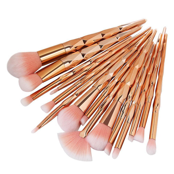 Pinceau de maquillage MAANGE 10Pcs/15Pcs Makeup MAANGE - May-P