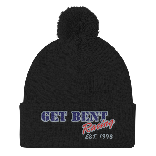 Get Bent Racing Pom Pom Hat