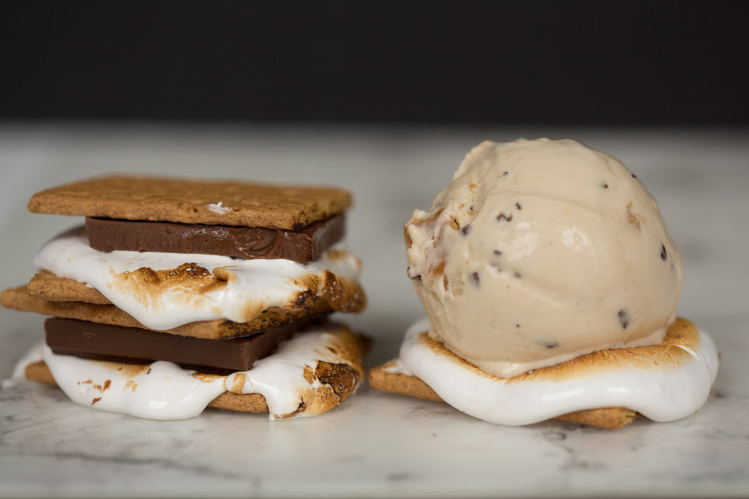 Torched Marshmallow S'more