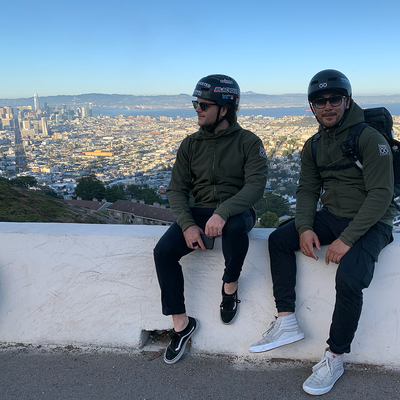 Founders of LAZYROLLING in San Francisco