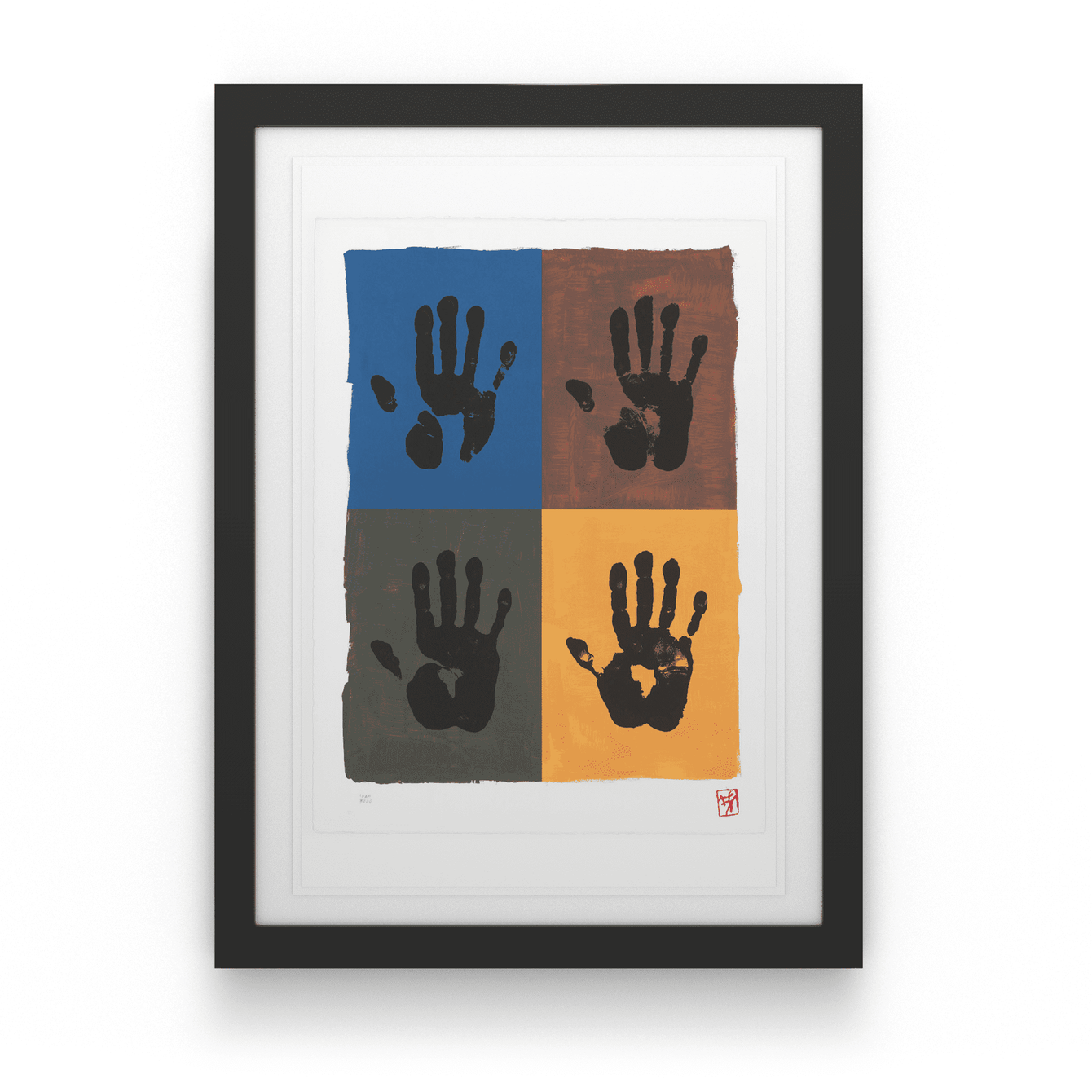 Four Right Hands - House Of Mandela Art