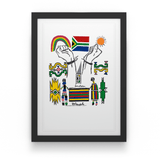 Esther Mahlangu - House Of Mandela Art