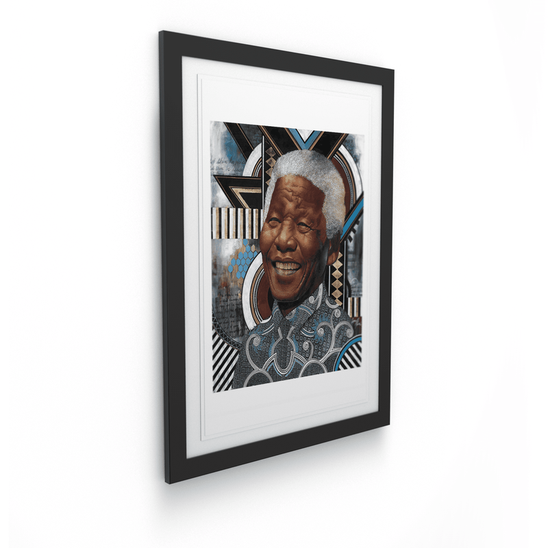 Loyiso Mkize - A Portrait of a Man I - House Of Mandela Art