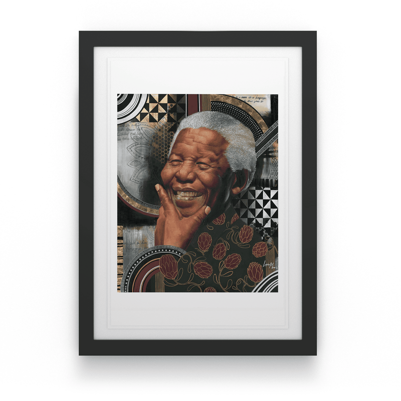 Loyiso Mkize - A Portrait of a Man (Small Box Set) - House Of Mandela Art