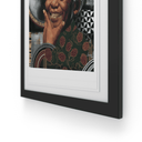 Loyiso Mkize - A Portrait of a Man IV - House Of Mandela Art