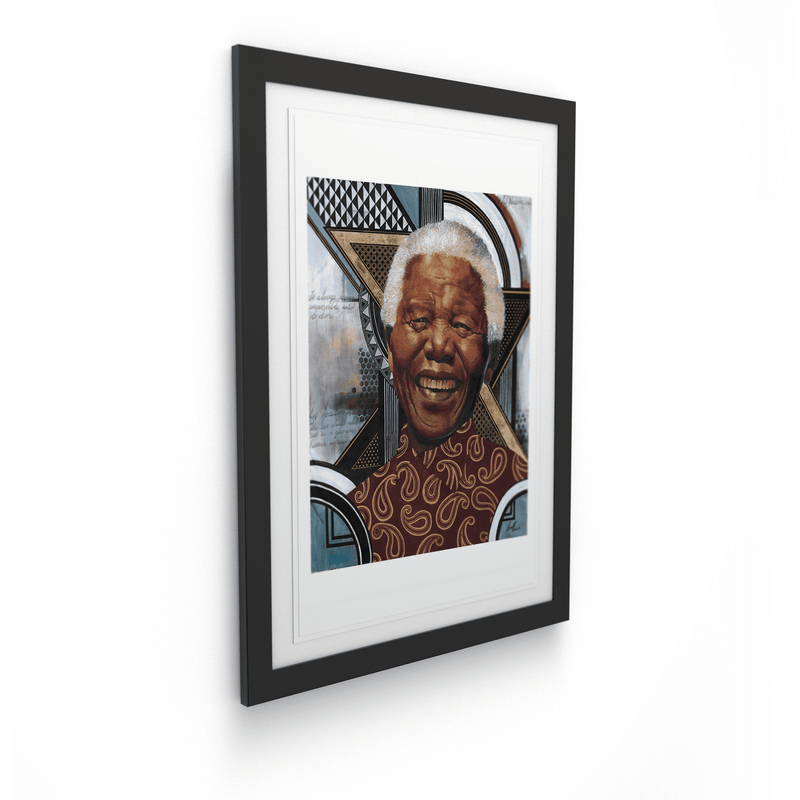 Loyiso Mkize - A Portrait of a Man V - House Of Mandela Art