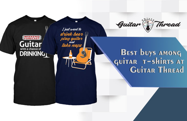 3 Best Buys Among Guitar T-Shirts at Guitar Thread