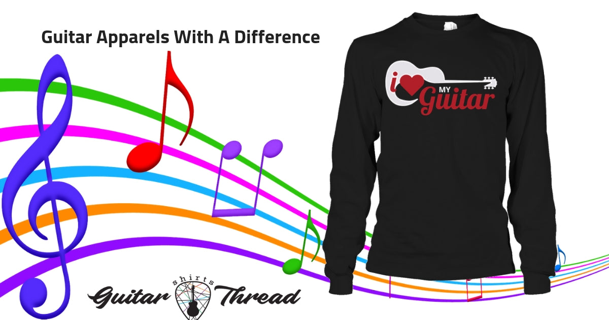 3 Exciting Guitar T-Shirts You Should Try Out