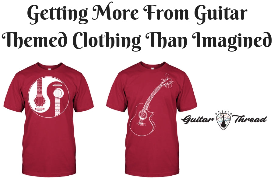 Fight Your Laziness Of Doing Laundry With Guitar Clothing in USA