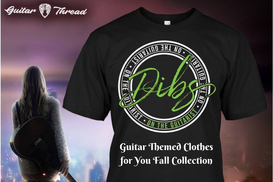 Have A Unique Fall Wardrobe With Special Guitar Themed Clothes