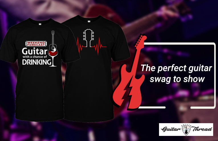 How Customized Guitar Shirts Differ from The Market Available Ones?
