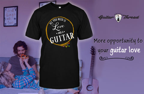 Achieving The Unique Combination of Passion and Style | Guitar Clothing in USA