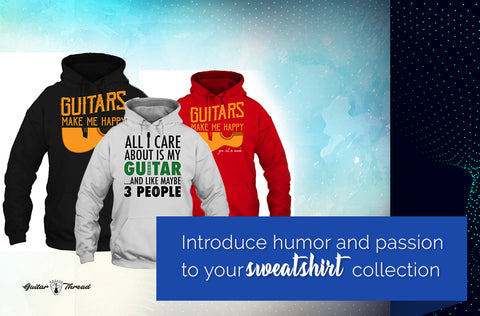 Guitar Hoodies in USA