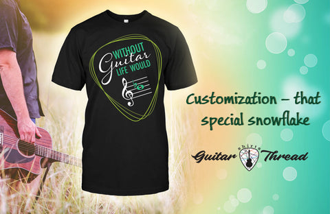 How to Buy Customized Guitar T-Shirt Within Budget? Guitar Shirts in USA