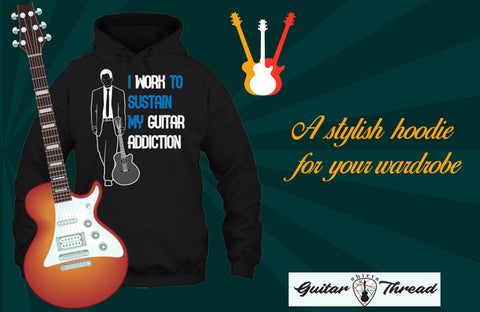 How To Find A Suitable Guitar Hoodie Without Spending Too Much? Guitar Apparel in USA