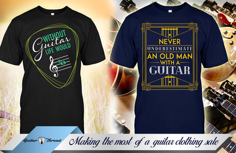 Is Buying Guitar Clothing in A Sale A Good Thing? Guitar Clothing in USA