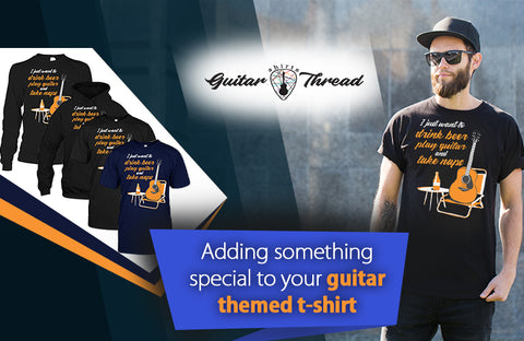 Guitar T-Shirts in USA