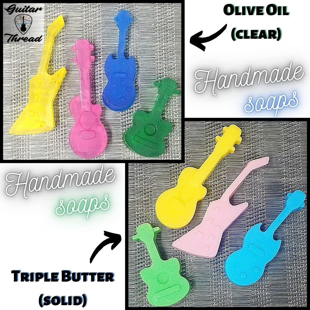 Mini Guitars | Handmade Soaps