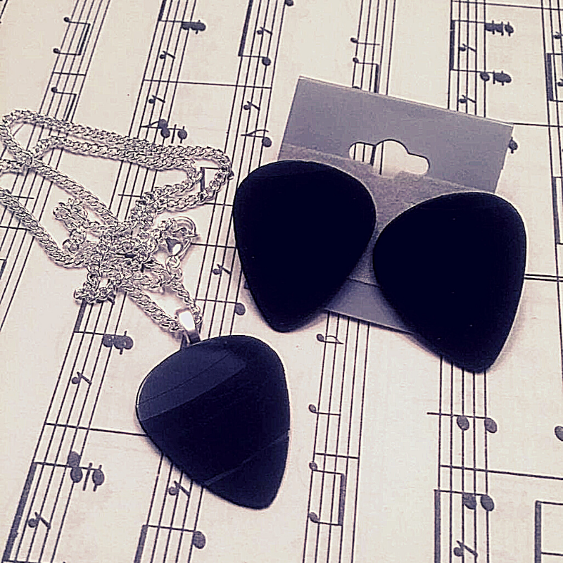 Guitar Pick Jewelry | Handmade From Vinyl Records