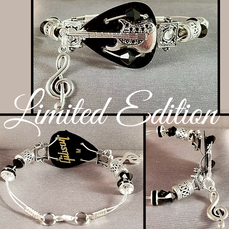 Limited Edition | Guitar Hero | Swarovski™ Crystal Guitar String Bracelet