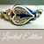 Limited Edition | Blue Angel Wing Heart | Swarovski™ Crystal Guitar String Bracelet