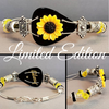 Limited Edition | Sunflower | Swarovski™ Crystal Guitar String Bracelet