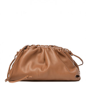 Open image in slideshow, Cloud Shape Clutch - Camel