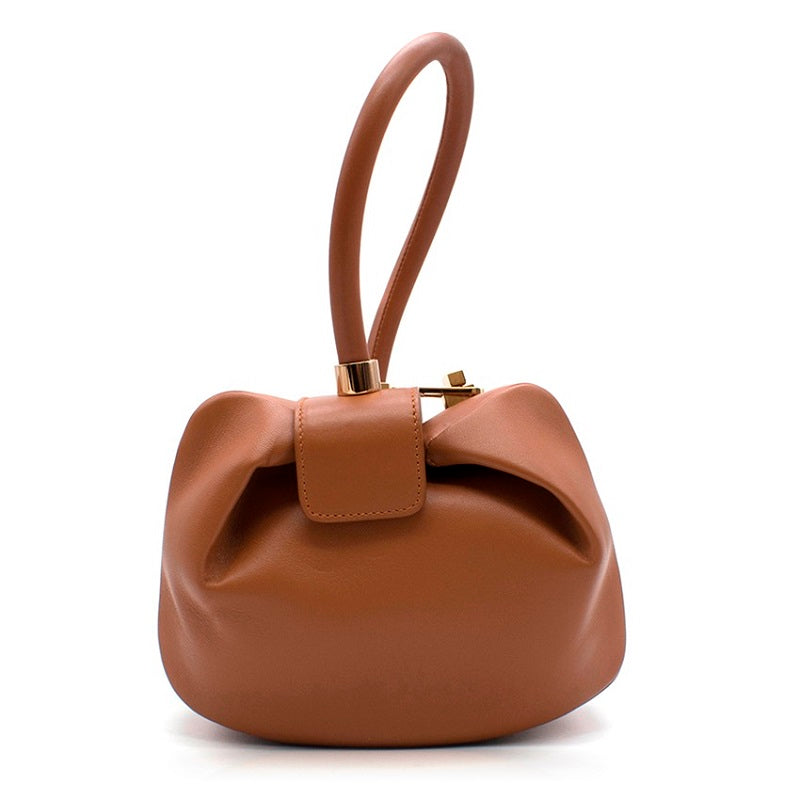 Bell Genuine Leather Bag- Camel