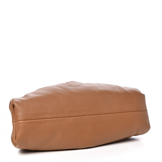 Cloud Shape Clutch - Camel