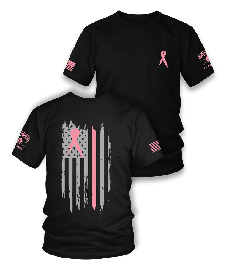 Breast Cancer Awareness Ribbon Tee