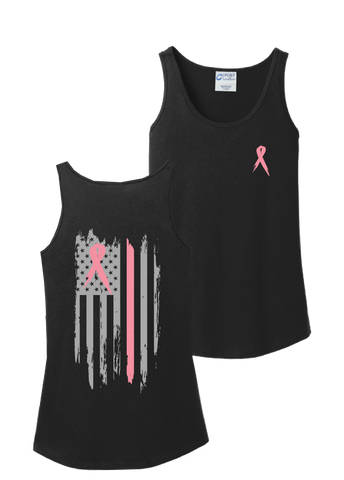 Breast Cancer Awareness Ribbon Tank