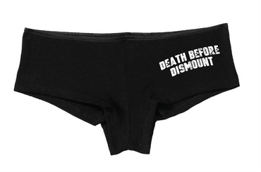 Death Before Dismount Shortie
