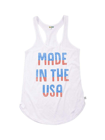 Women's Space Force Patriotic Americana Tank Tops - USA Stars and Stripes Tanks