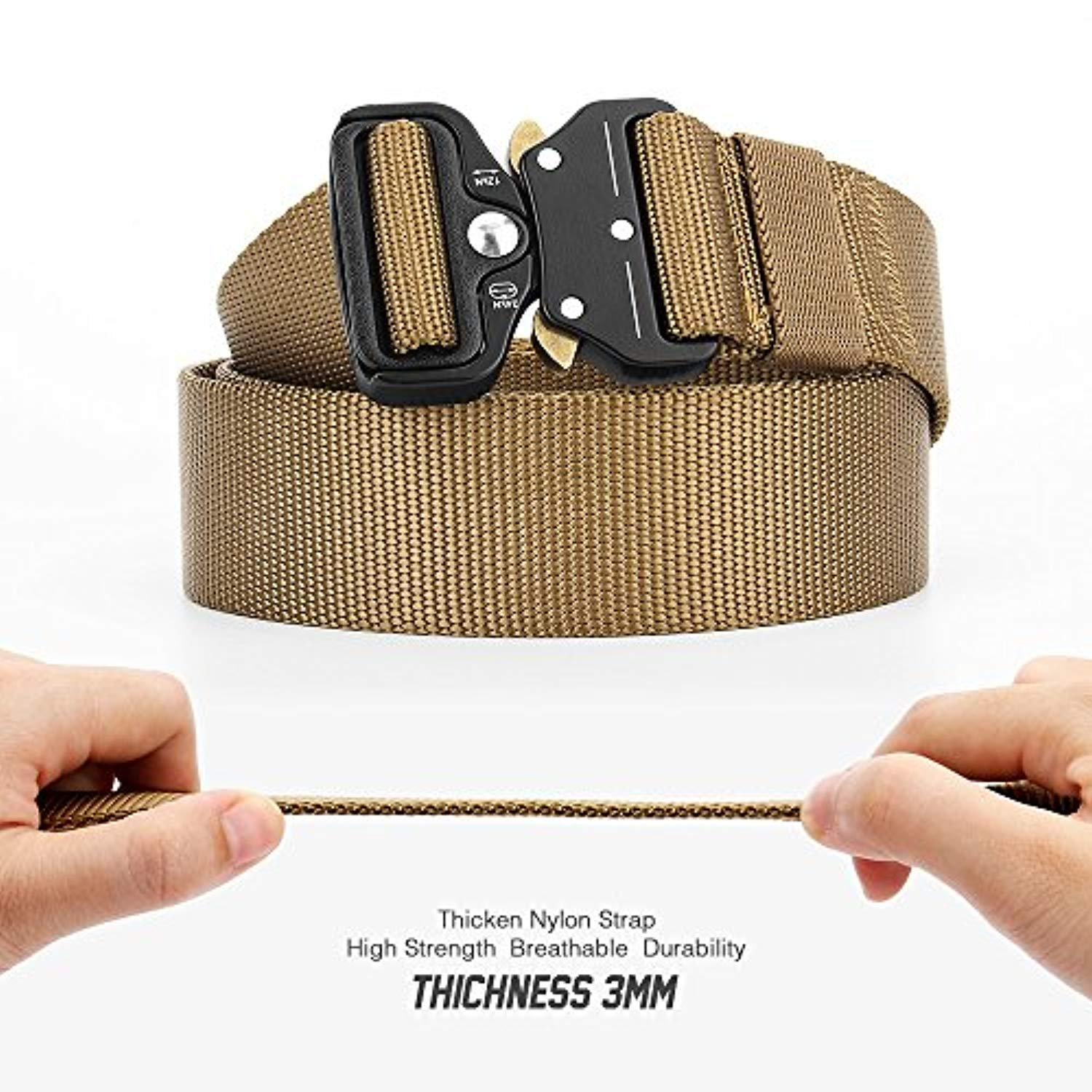 Tactical Nylon Belt for Men