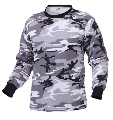 Long Sleeve Digital Camo T-Shirt