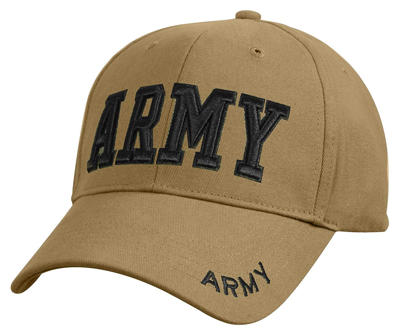 Army Embroidered Insignia Cap