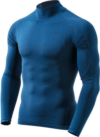 Men's Long-Sleeved Cool Dry Compression Shirt