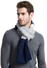 Men's Block Striped Scarf