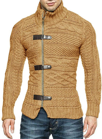 Luxedore Cable Knitted Cardigan