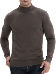 Luxedore Men's Slim Fit Turtleneck