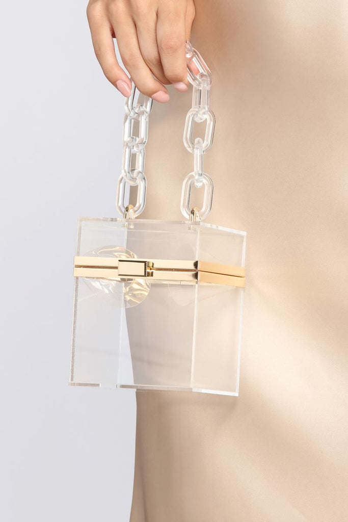 BE CLEAR HANDBAG