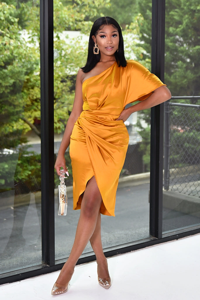 BOUGIE CHICK DRESS (HONEY)