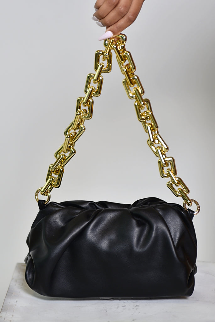 BLACK CLOUD HANDBAG