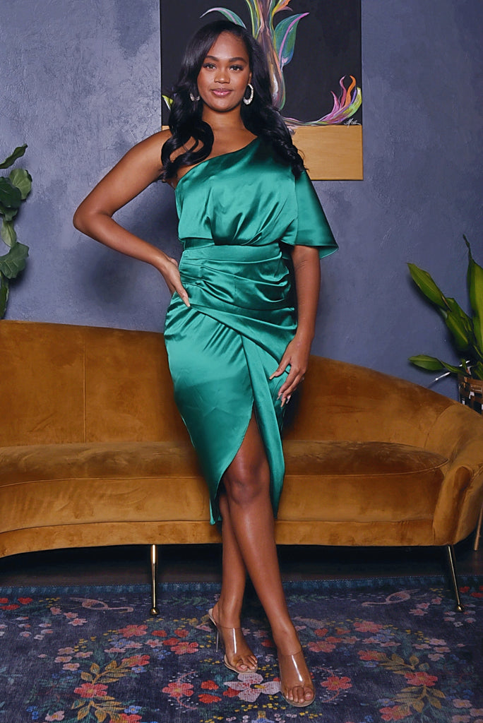 BOUGIE CHICK DRESS (EMERALD GREEN)