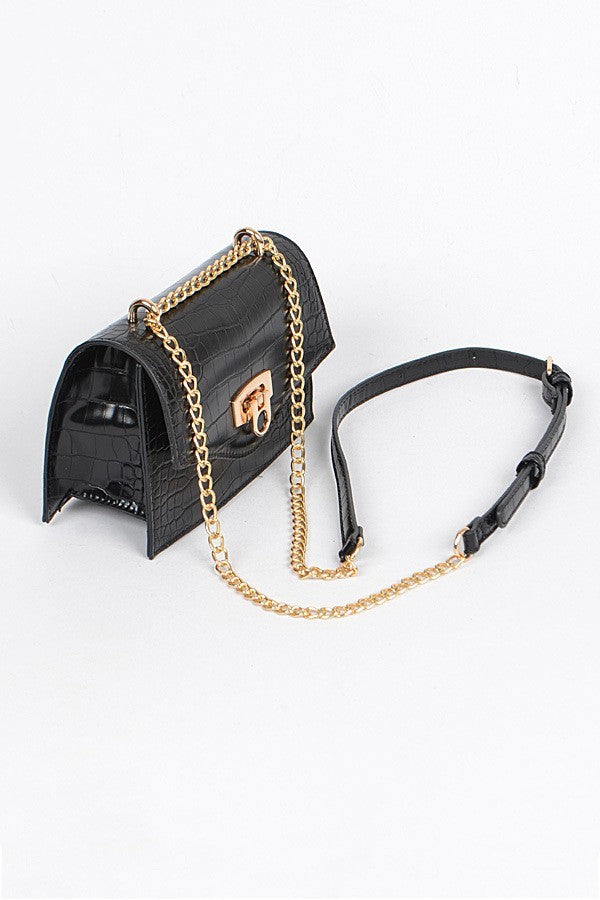Mini Love Crossbody (Black)